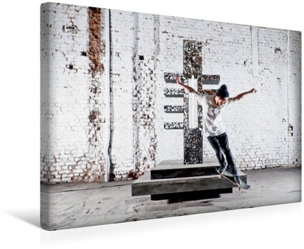 Wandbild woodtimesalwaysgoodtimes - skateboard fotografie von tim korbmacher