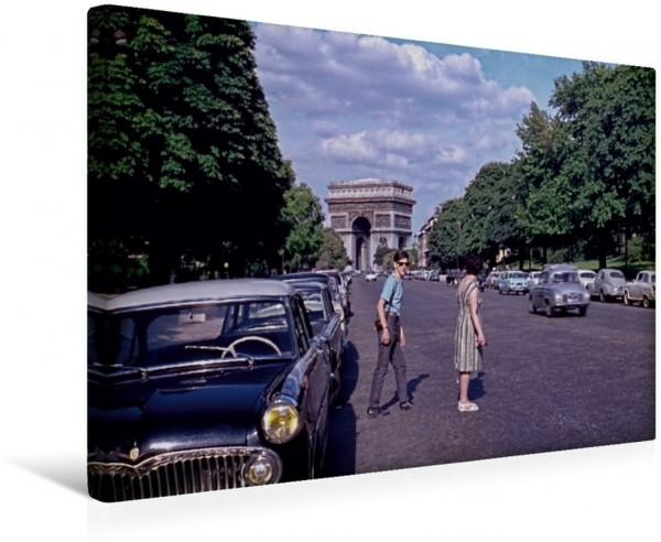 Wandbild Avenue Forch, Arc de Triomphe, Paris - 1963