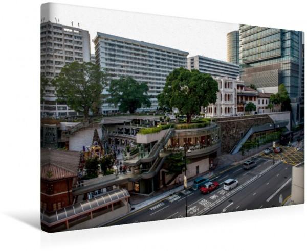 Wandbild Stadtteil Kowloon