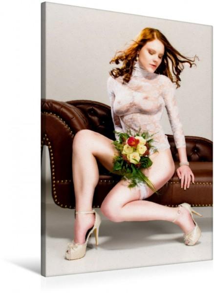 Wandbild Die Braut - ein erotischer Foto