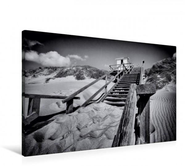 Wandbild Treppe zum Strand bei Westerland