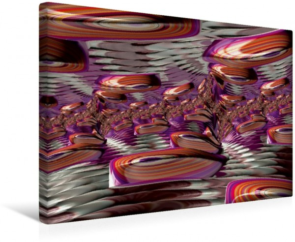 Wandbild Fractal Wave Jewels POP ART fraktal POP ART fraktal