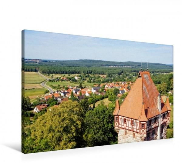 Wandbild Blick von der Burg Abenberg