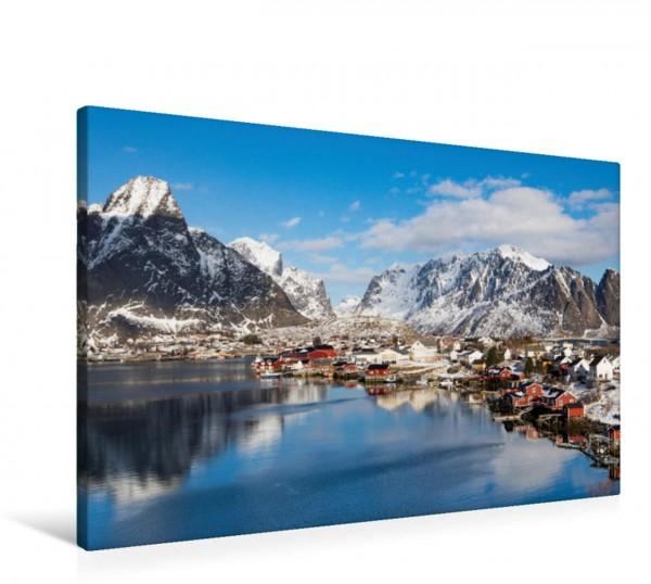 Wandbild Lofoten - Winterzauber