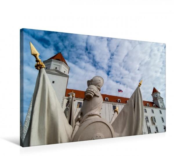 Wandbild Bratislava