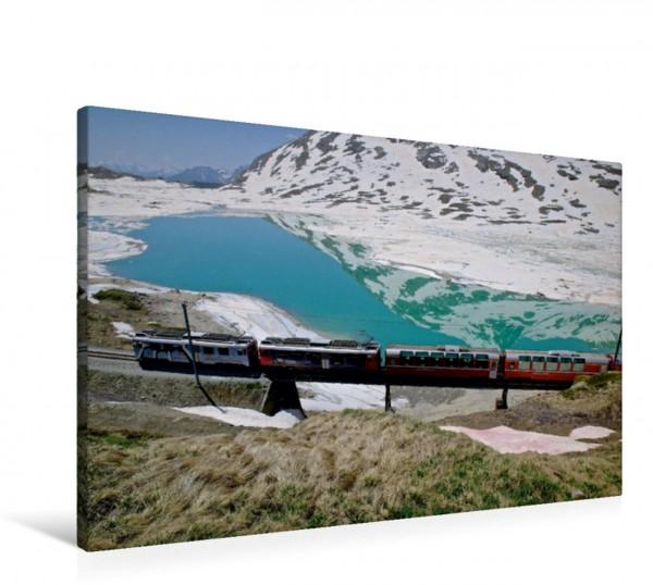 Wandbild Lago Bianco Stausee
