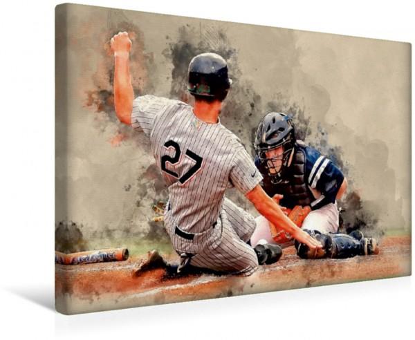 Wandbild Baseball Ich liebe Baseball von Peter Roder Ich liebe Baseball von Peter Roder