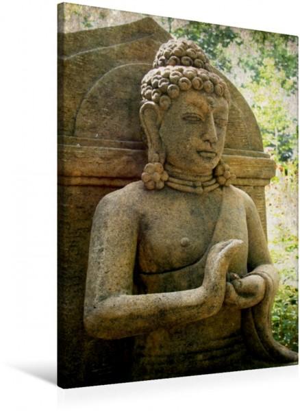 Wandbild Buddha Statuen CH-Version Buddha Buddha