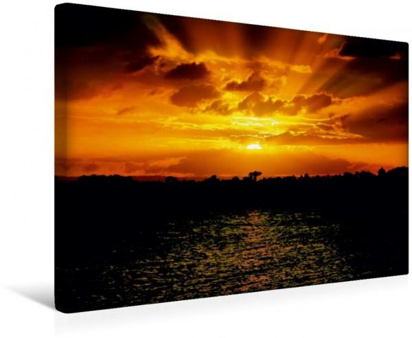 Wandbild Bribie Island Queensland Australia Sonnenuntergang in Queensland Australien Sonnenuntergang in Queensland Australien