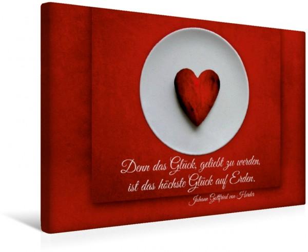 Wandbild Das Glück, geliebt zu werden Liebe und Weisheit Liebe und Weisheit