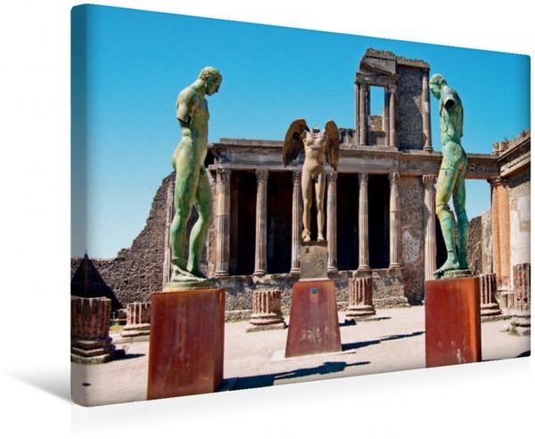 Wandbild Pompei