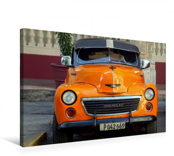 Wandbild Der US-Oldtimer Chevrolet Fleetmaster in Kuba