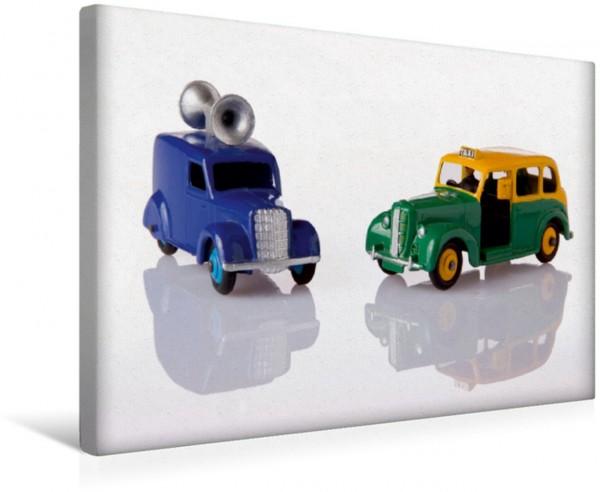 Wandbild Dinky Toys Spielzeugautos Loudspeaker Van / Austin Taxi Loudspeaker Van / Austin Taxi