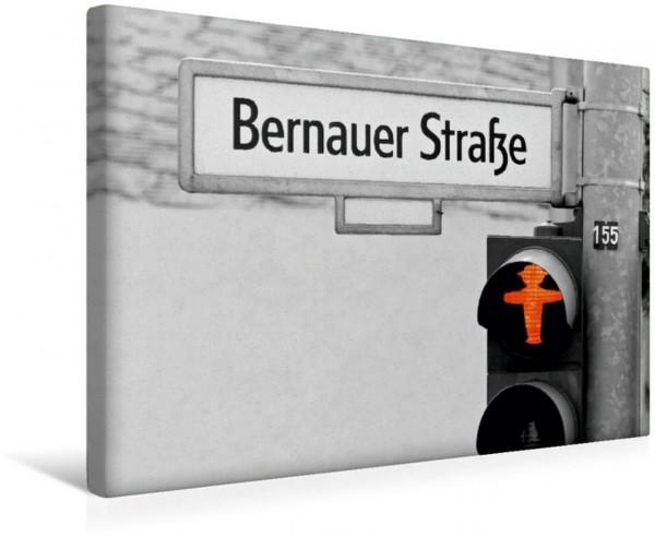Wandbild Geschichtsträchtige Straße in Berlin - Bernauer Straße
