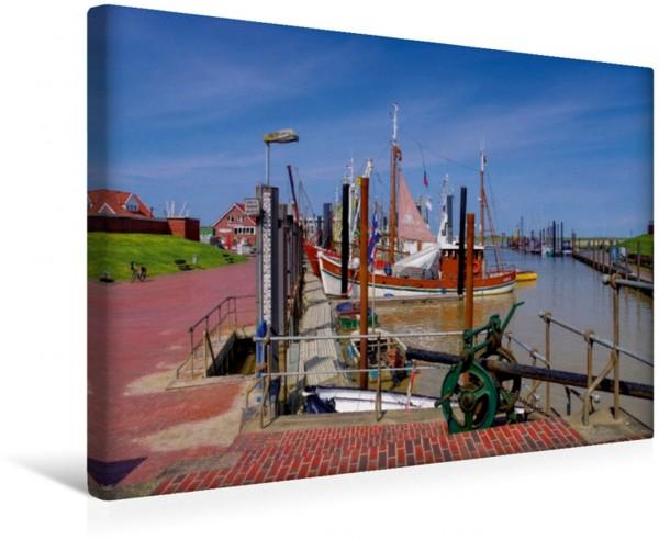 Wandbild Ditzum Ostfrieslands schöne Hafenstädtchen Ostfrieslands schöne Hafenstädtchen
