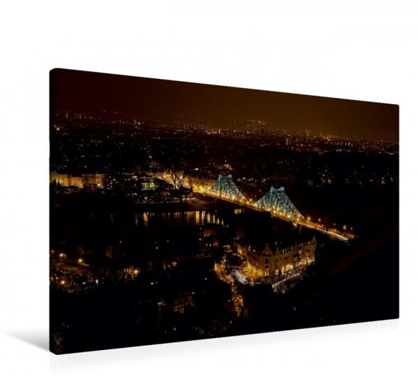 Wandbild Blick auf die Loschwitzer Brücke