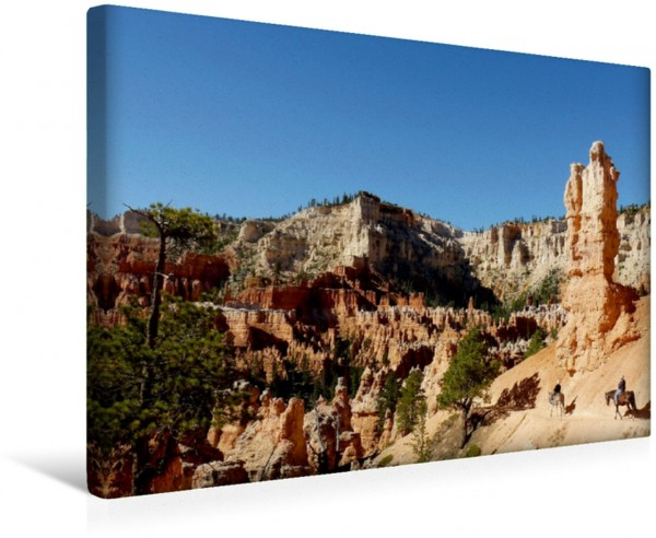 Wandbild Peekaboo Loop im Bryce Canyon Nationalpark Wanderungen auf dem Colorado-Plateau in den USA Wanderungen auf dem Colorado-Plateau in den USA