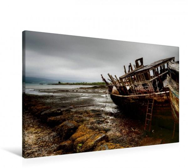 Wandbild Schiffswrack auf der Insel Mull
