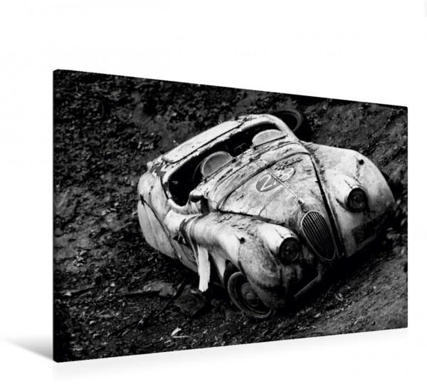 Wandbild Autos aus den fünfziger Jahren
