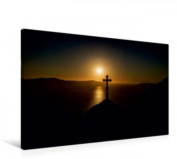 Wandbild Santorin Sonnenuntergang auf Santorin Sonnenuntergang auf Santorin