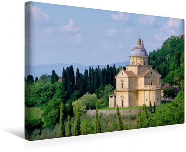 Wandbild Madonna di San Biagio in Montepulciano Toskana - Großarige Bauten Toskana - Großarige Bauten