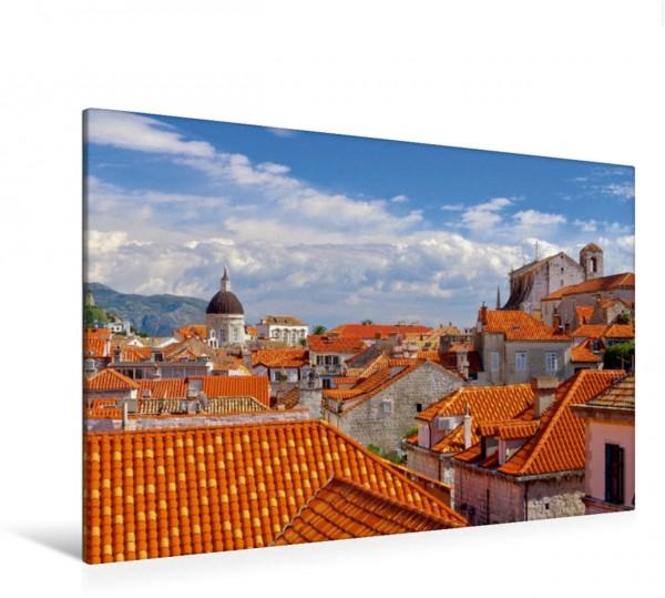 Wandbild Blick über die Dächer Dubrovnik - Perle der Adria Dubrovnik - Perle der Adria