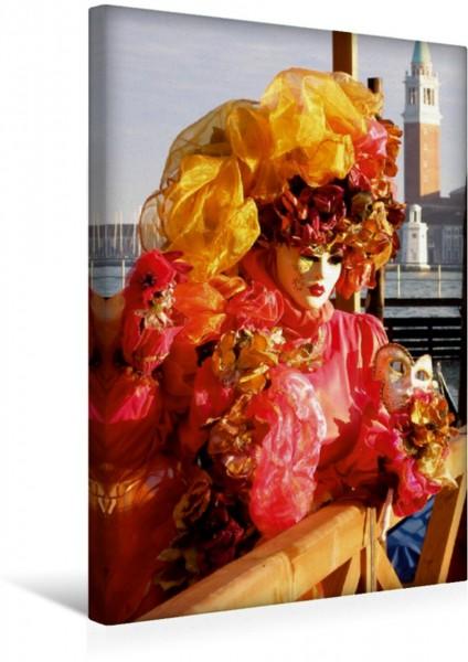 Wandbild Masken der Sehnsucht - Karneval in Venedig
