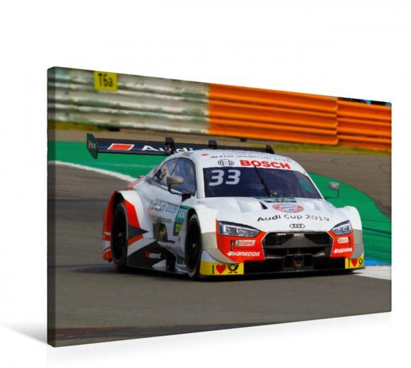 Wandbild Rene Rast, Audi RS5 DTM
