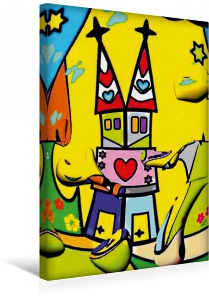 Wandbild Herzens Turm