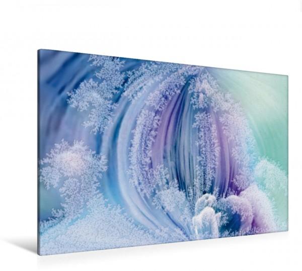 Wandbild Eisblumen