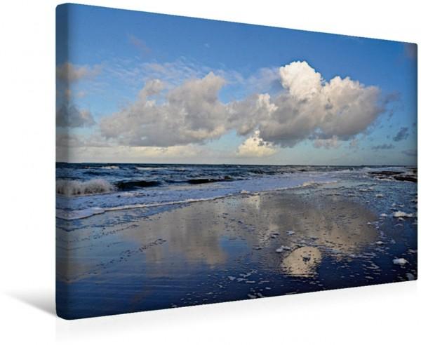 Wandbild Wolken über der Nordsee Wolken fliegen überall hin Wolken fliegen überall hin