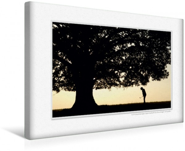 Wandbild Emotionale Momente: Golfsport. CH-Version