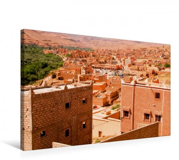 Wandbild Ort zwischen Tinerhir und Ouarazate
