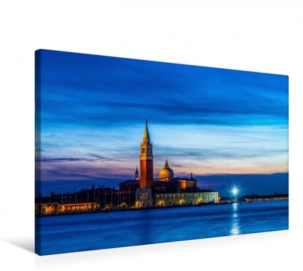 Wandbild San Giorgio Maggiore in der Dämmerung Venedig Italien Venedig Italien