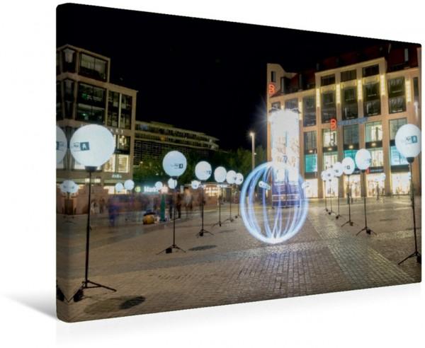 Wandbild Passagenfest auf dem Marktplatz