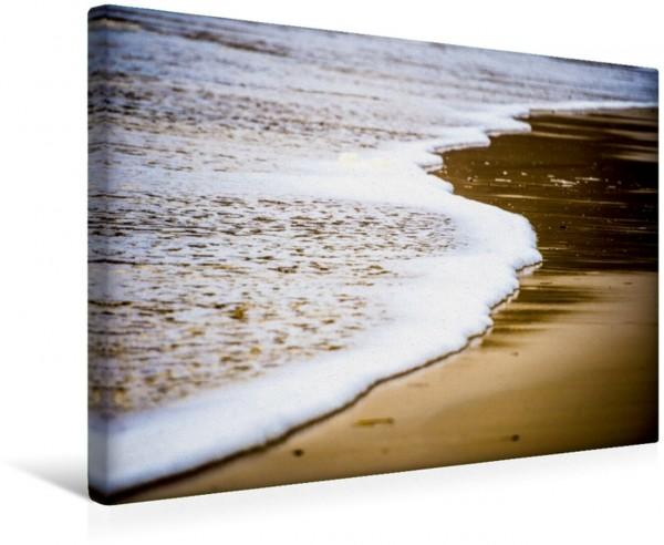 Wandbild Strand bei Lincoln City An der Oregon-Küste An der Oregon-Küste