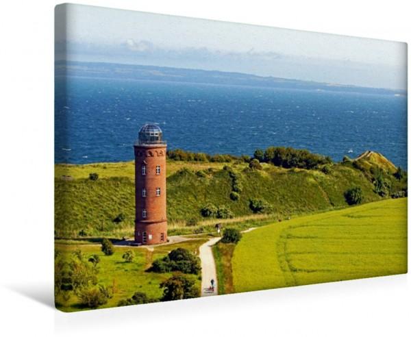 Wandbild Ostsee Kap Arkona Insel Rügen Peilturm Leinwandbild