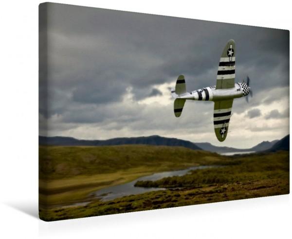 Wandbild Modellflugzeuge über Island