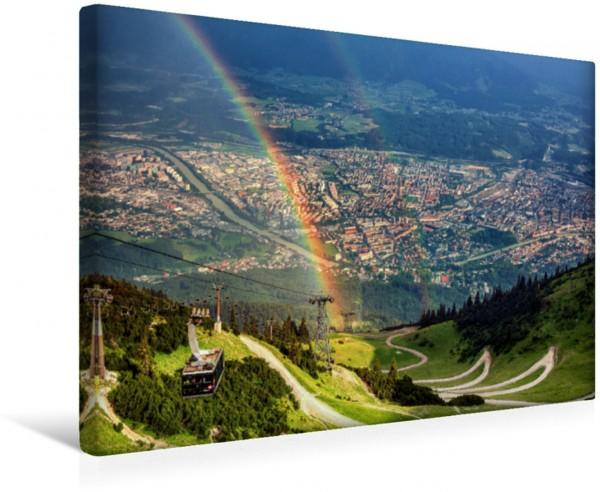 Wandbild Innsbruck - Stadt in den Alpen