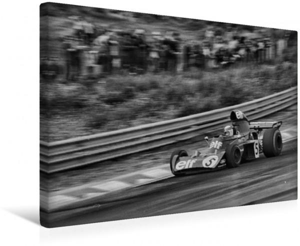 Wandbild Jackie Stewart Tyrrell-Ford 1973 Tyrrell-Ford 1973