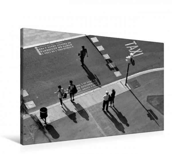 Wandbild Schattenspiel