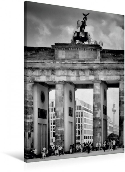 Wandbild BERLIN Brandenburger Tor Das bekannte Wahrzeichen Das bekannte Wahrzeichen
