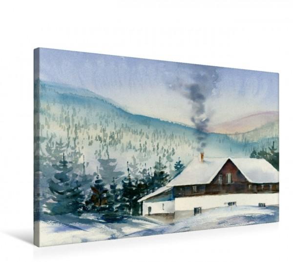 Wandbild Winterurlaub