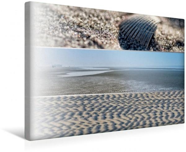 Wandbild Küstenstreifen an der Nordsee