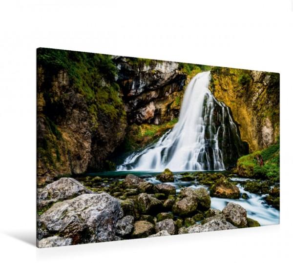 Wandbild Gollinger Wasserfall