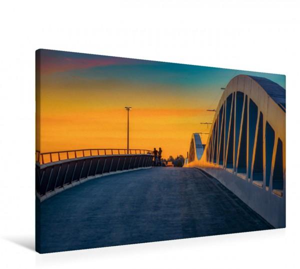 Wandbild Die Kienlessbrücke