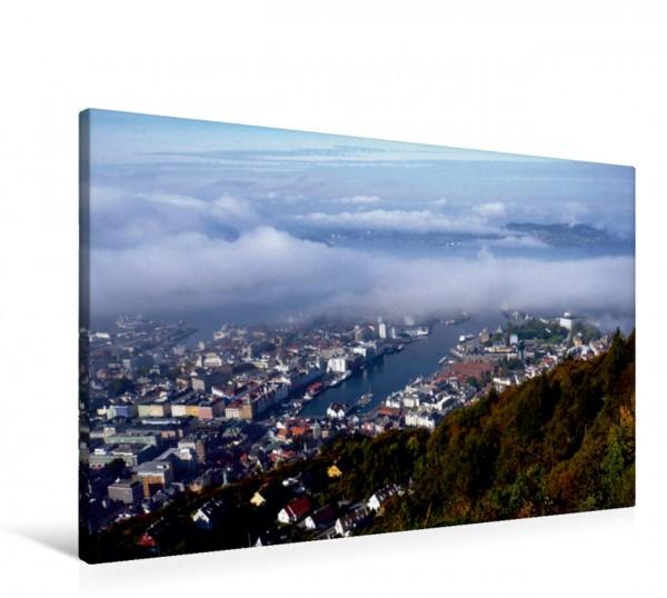 Wandbild Bergen