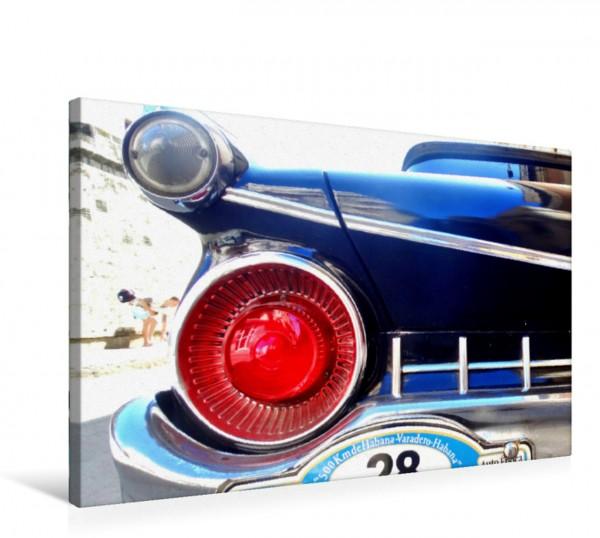 Wandbild Heckleuchte des US-Oldtimers Ford von 1959