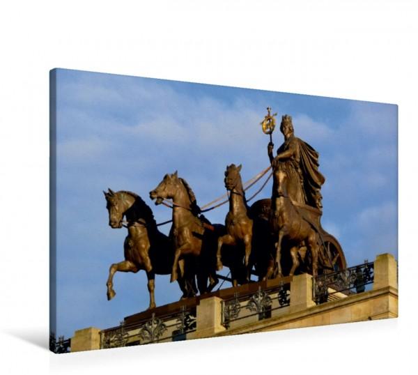 Wandbild Quadriga auf dem Braunschweiger Schloss