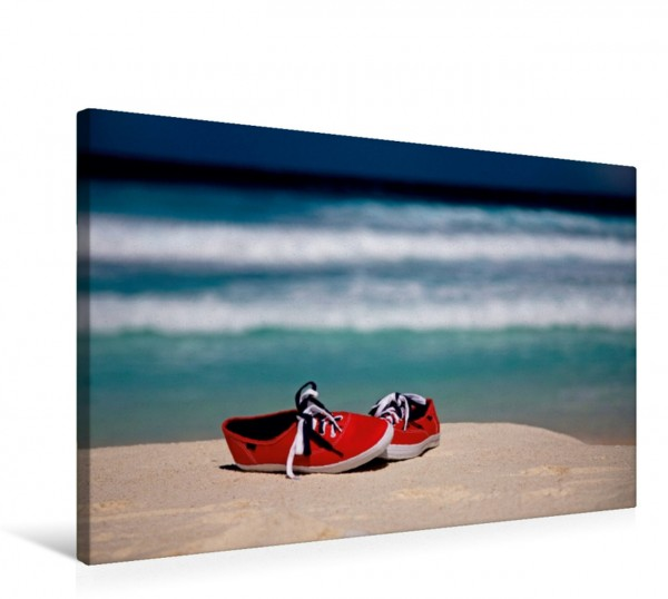 Wandbild Red Shoes